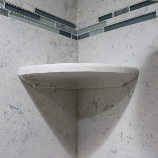 Corner Bathroom Shelf