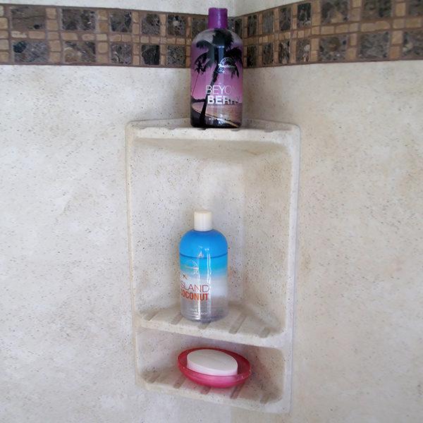 corner unit bathroom Shelf