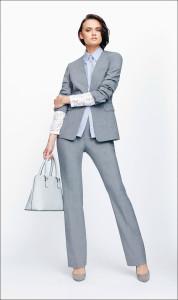 Look your best in a grey suit
