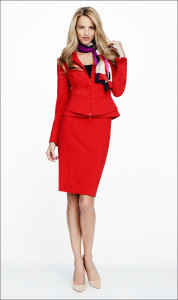 Red suit rule only 178x300 - 3 Tricks to Look Your Best