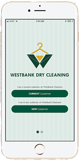 Westbank App - Dry Cleaning & Laundry Services