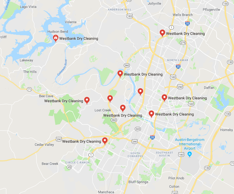 map - Locations
