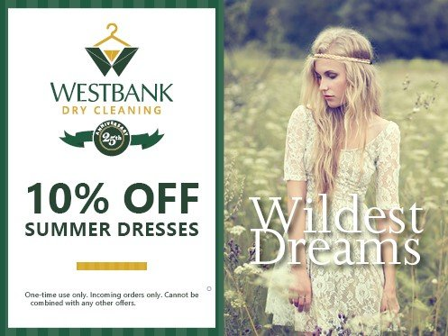 West summer 4 - Coupons