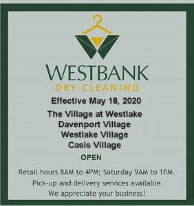Westbank 5 4 20 3 282x300 - Westbank Dry Cleaning