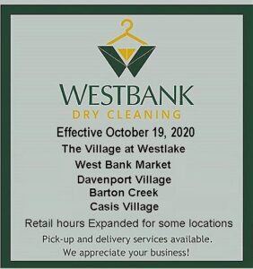 Dry Cleaning Store Locations 1 282x300 - Westbank Dry Cleaning