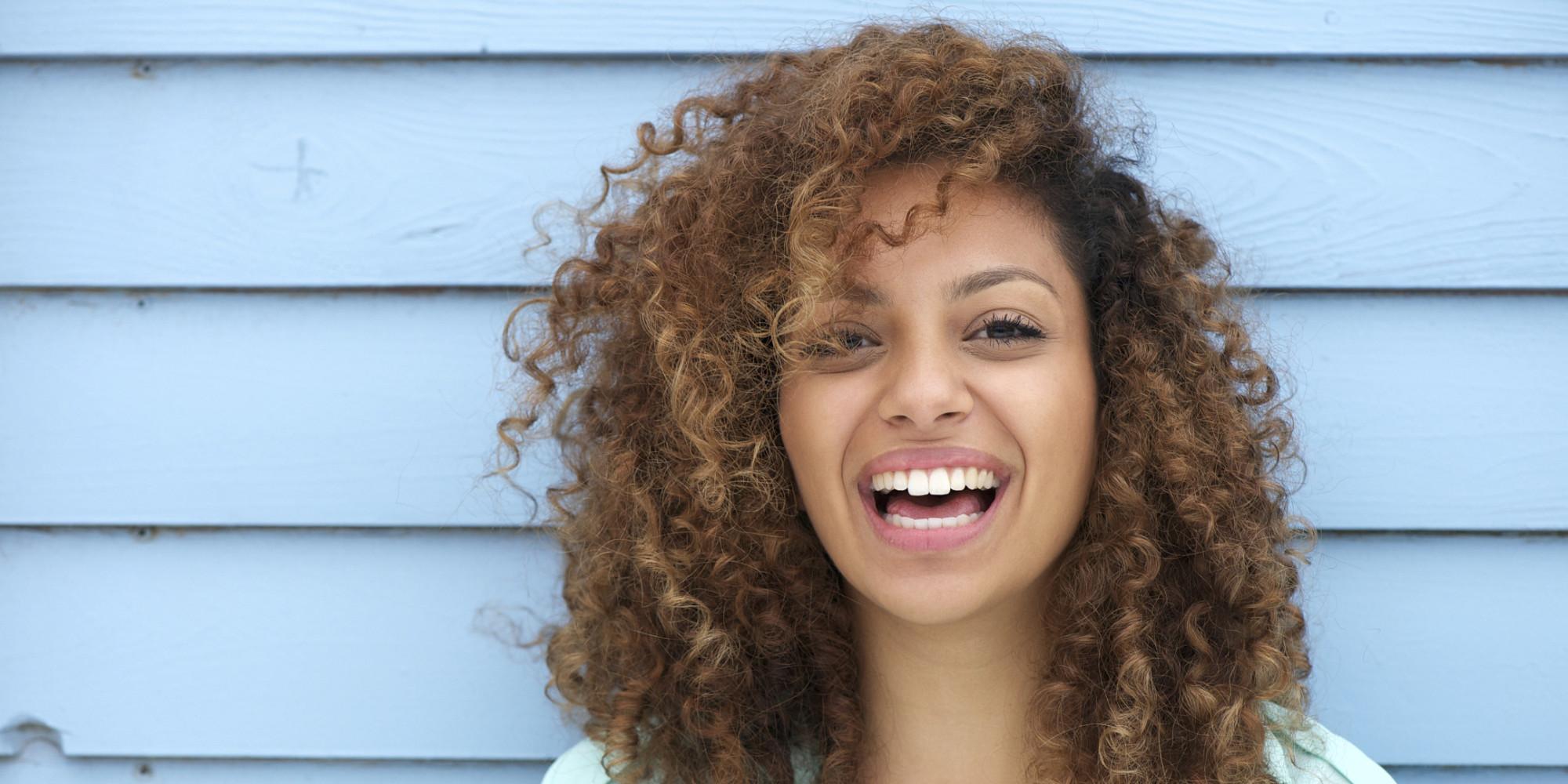 curlywomanlaughing
