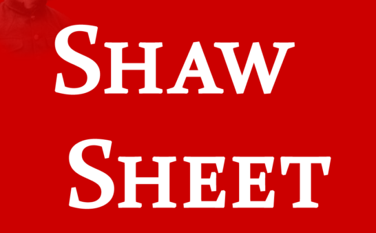 Writing for Shaw Sheet An Invitation