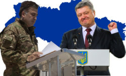 Thumbnail small Saakasvili Proshenko stand off in Ukraine