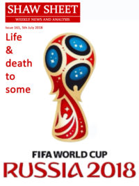 Cover Page 161 Fifa World Cup Emblem for 2018
