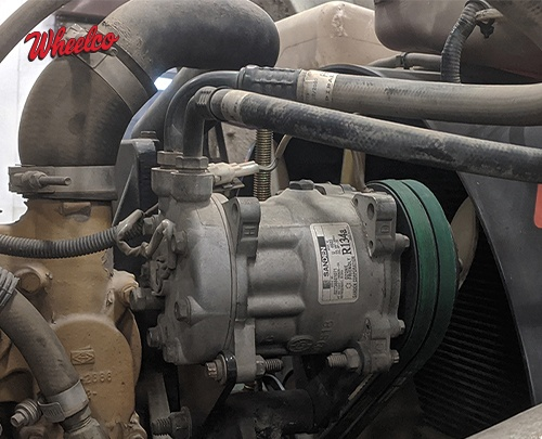 The Dog Days of Summer: 5 Common A/C Compressor Failures & Causes for Your Big Rig