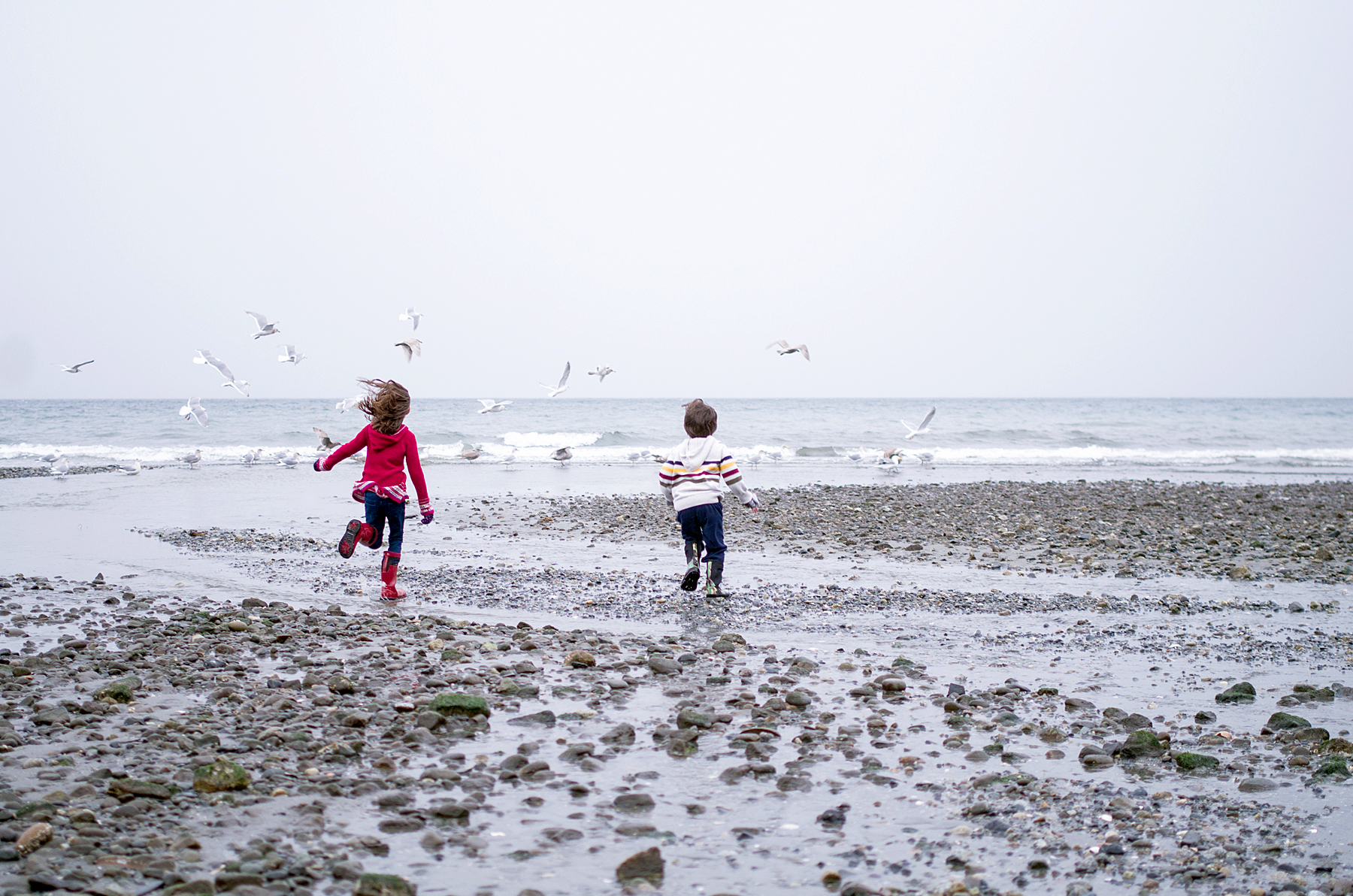 Vancouver Island Beach Children Lifestyle Photography