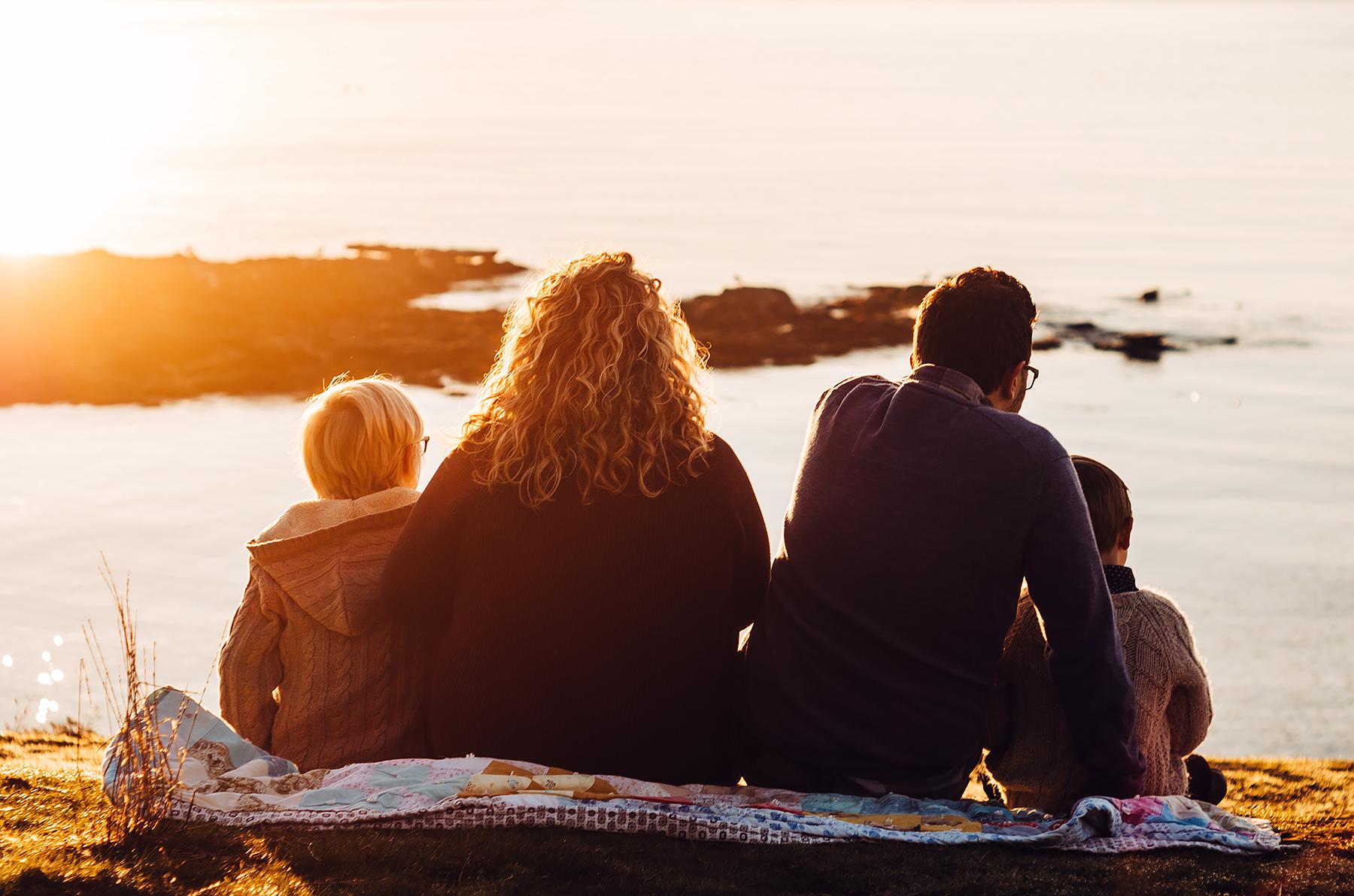 Family Photography Sunrise Session