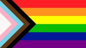 new pride flag LGBTQ+ BLM BIPOC Lives Matter