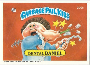 Garbage Pail Kids Mini Cards 2013 Base Card 188a Large MARGE