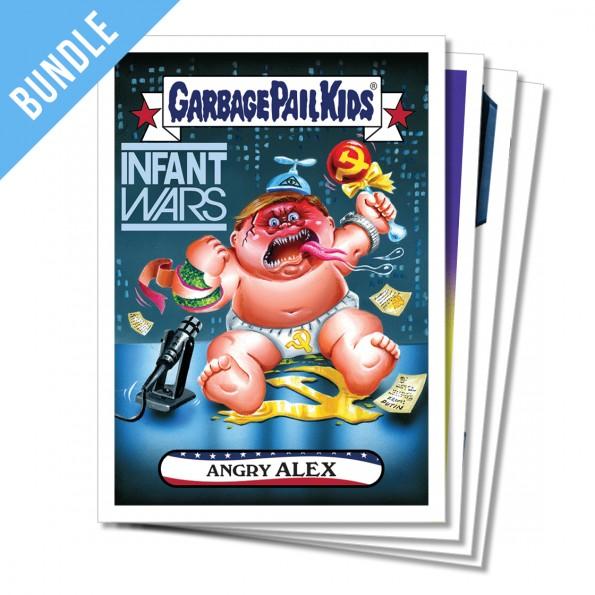 GPK Garbage pail kids WACKY Packages TRUMPOCRACY 1st 100 days card TRUMP #23