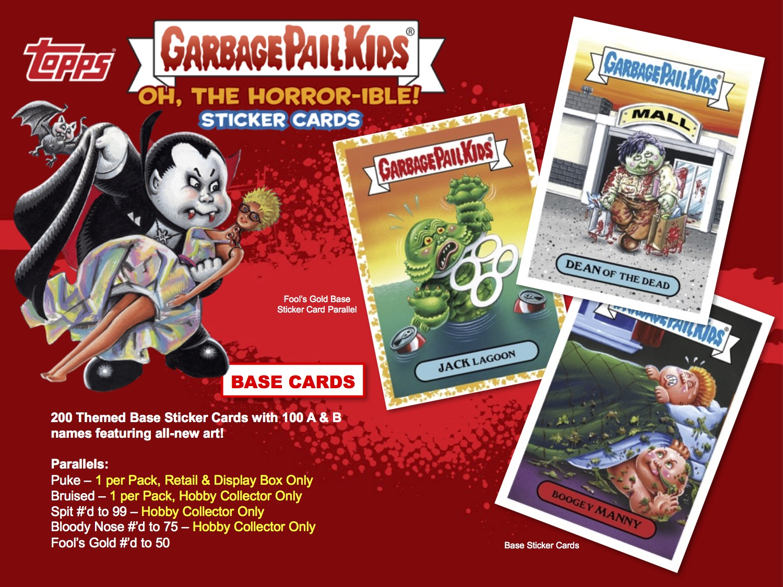 Garbage Pails Kids 2014 Series 1 Base Card 16b STUFFED STEPH