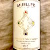 mueller cabernet 2013 label close