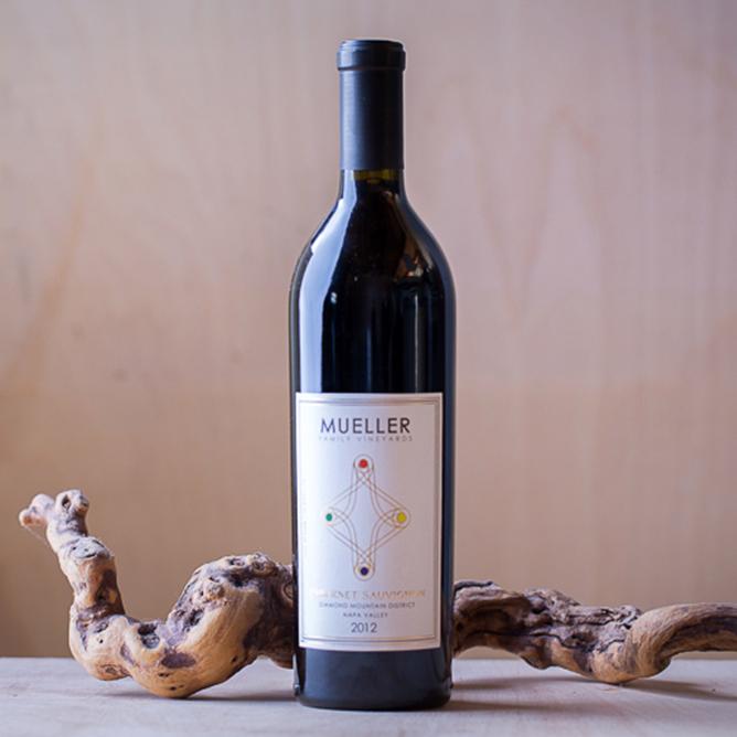 mueller diamond mountain cabernet sauvignon wine napa valley