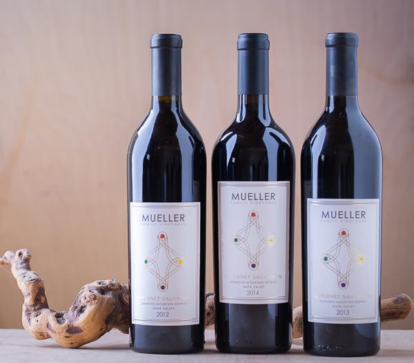 mueller diamond mountain cabernet 2012-2013-2014 drought vintage 3 pack