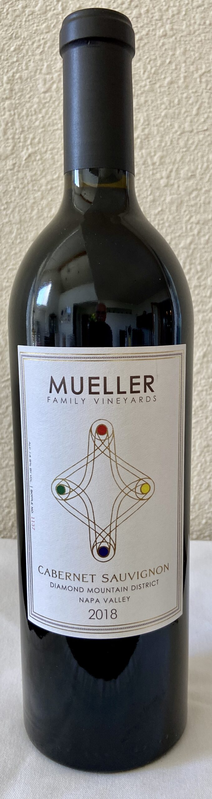 2018 Mueller Family Vineyards Cabernet Sauvignon