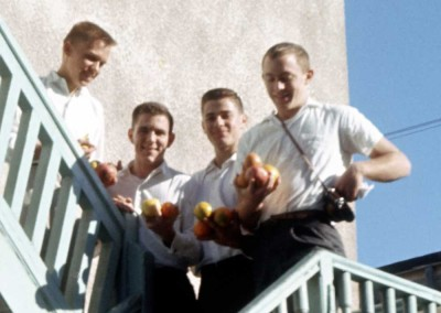 1962 Thanksgiving - Lee LaFont?, Ed Adair, Alex Exarcos, John Haspels