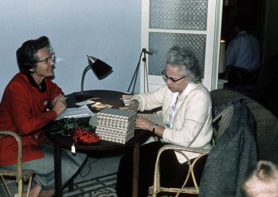 1962 Norma Insley and Gertrude Whitted
