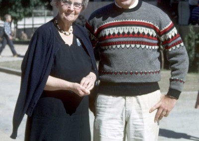 1963 Mrs Hanna and Jim Milhone