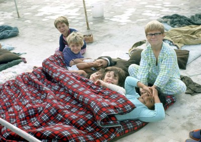 Carolyn Pollock's class - Sleepover 1972