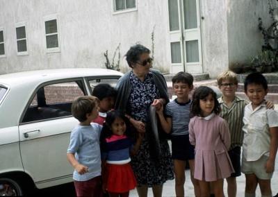 1972 Carolyn Pollock's Class with Story Teller Madame Karbenyenko