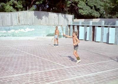 1973 Tennis - Len Millison and John Meloy