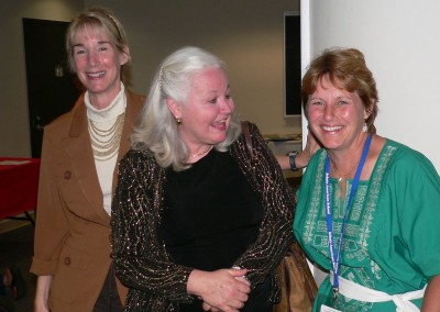 Barbara Murray, Deb Martin and Carolyn Pollock