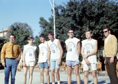 Basketball Team - late 60's