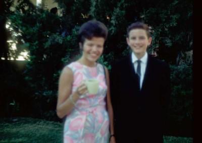 Ruth Holmes and Eddie Nicholas