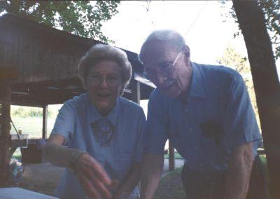 Betty and Roy Atherton.  He was U.S. Ambassador to Egypt in 1980's.  She was Schutz School Board Member & Alumni Board President