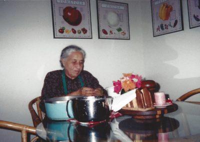 1 - Dr. Aisha in Jane Meloy's kichen