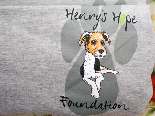 Henry's Hope Foundation - T-shirt front logo