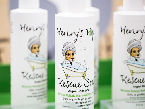 Henry's Hope Foundation - Rescue Soap - Vegan and all natural argan shampoo