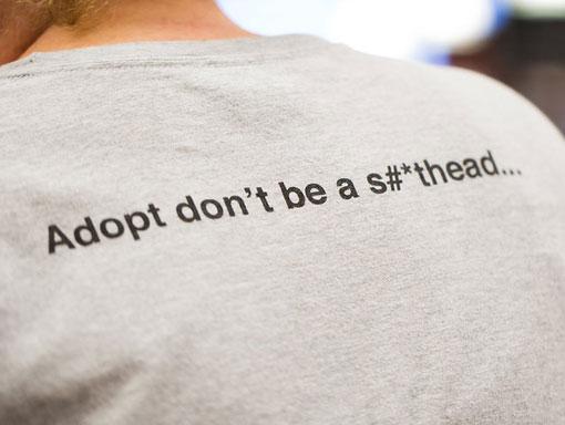 Henry's Hope Foundation - T-shirt back