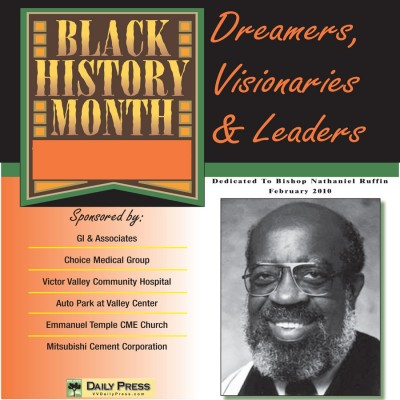 2010 Black History Month SS Cover