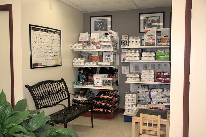 Veterinary Product Display