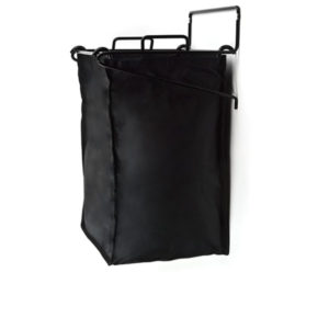 Tilt Put Laundry Hamper - Black