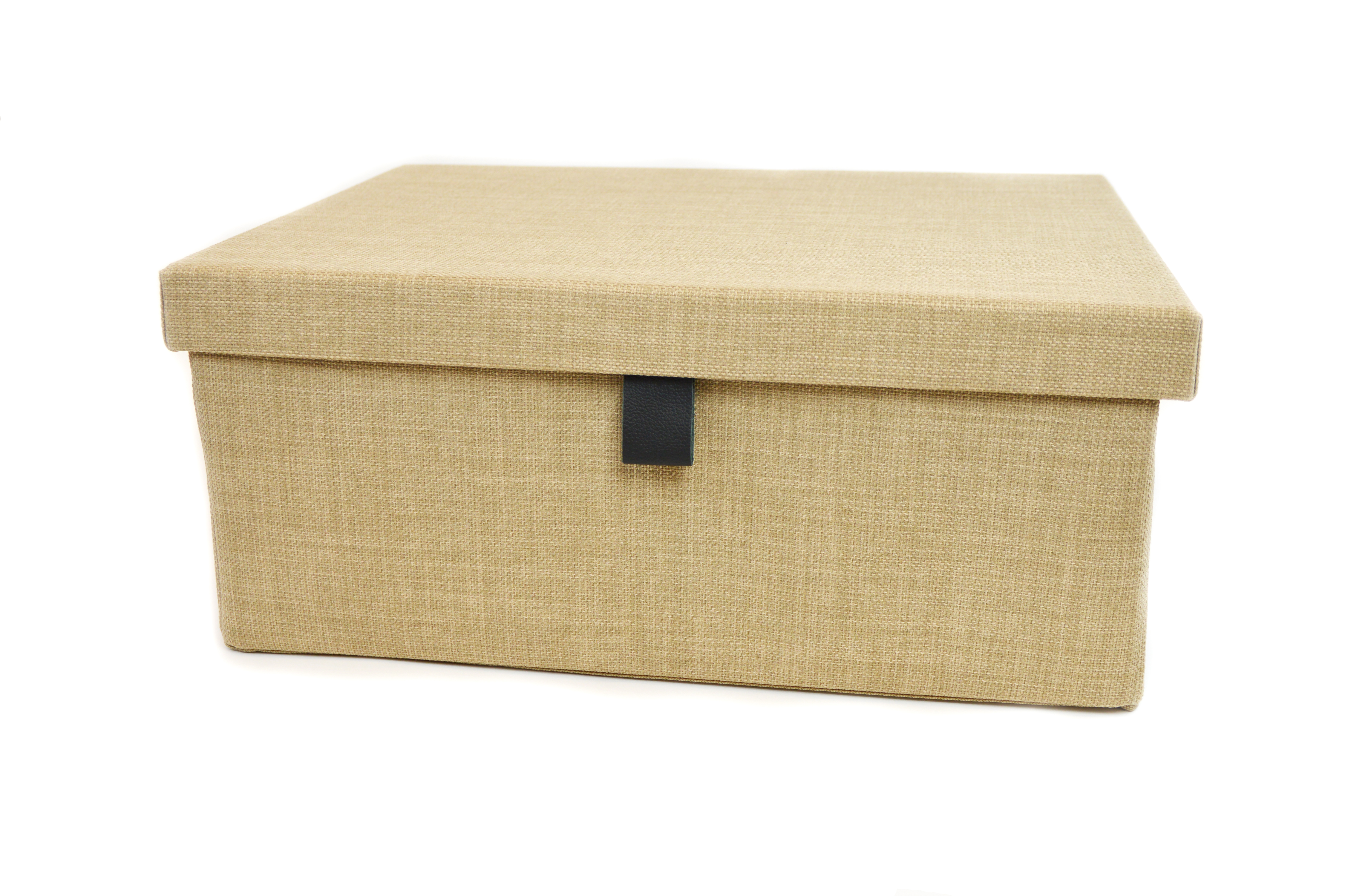 ENGAGE Fabric Storage Box in Beach