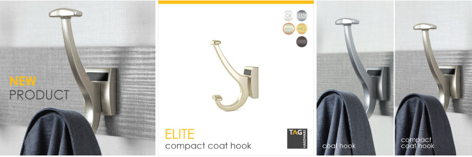 New Product: ELITE Compact Coat Hook