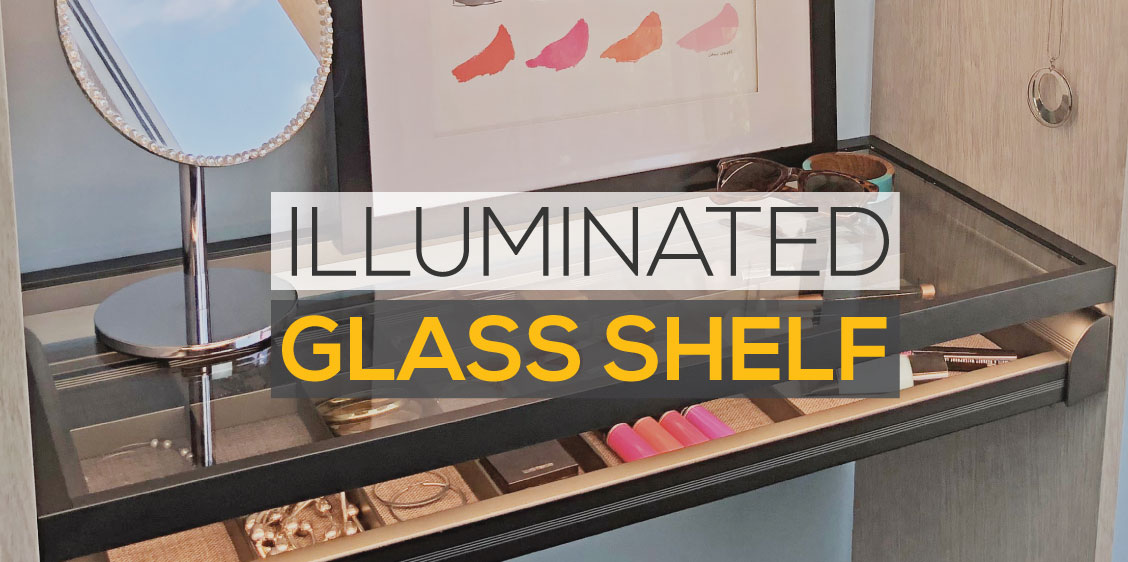 New Product Preview: Illuminated Glass Shelf