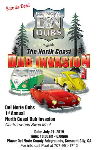 2019 Dub Invasion Flyer