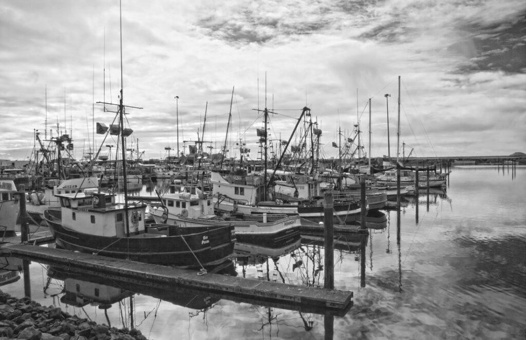 Crescent City Harbor pre-Tsunami