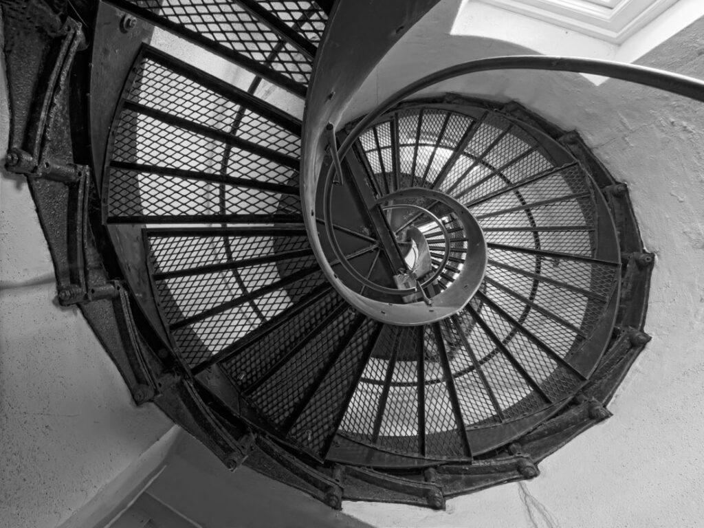 Coquille River Lighthouse Staircase