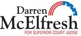 Darren McElfresh Campaign logo