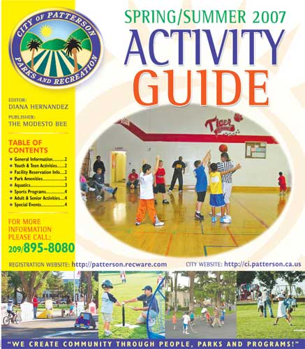 City of Patterson Summer Activity Guide