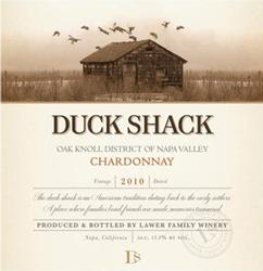 2010 Duck Shack Wine Label Photograph